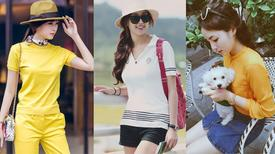 Chấm điểm phong cách thời trang đường phố của Hoa hậu Việt