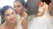 Vợ Duy Nhân bất ngờ tái xuất làm mẫu ảnh cưới