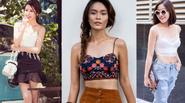 Xu hướng áo hai dây giảm nhiệt ngày hè của Sao Việt