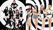 Các nhóm nữ Kpop ngày càng lột đồ táo bạo để nổi tiếng