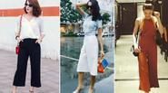 Sao Việt 'chinh phục' ánh nhìn với quần culottes cực chất