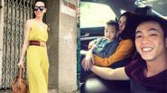 """Facebook24h: Quốc Cường nói lời yêu gia đình - Hà Hồ vui vẻ """"tự sướng"""" trên phố"""