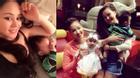 Vy Oanh lộ hình ảnh con trai trong tiệc sinh nhật Maya