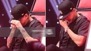 GHV: Tuấn Hưng khóc, nghĩ về bố đang bị bệnh khi nghe thí sinh trình diễn