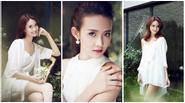 Vẻ đẹp dịu dàng của Siêu mẫu Châu Á Trương Mỹ Nhân