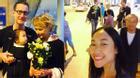 Facebook 24h: Đoan Trang đón gia đình chồng đến thăm