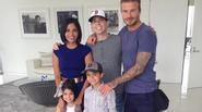 Beckham mua vé máy bay mời cả gia đình CĐV nghèo bị ung thư tới chơi