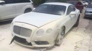 """Chú rể tê tái nhìn Bentley 14 tỷ đi thuê """"bỗng dưng"""" bốc cháy"""