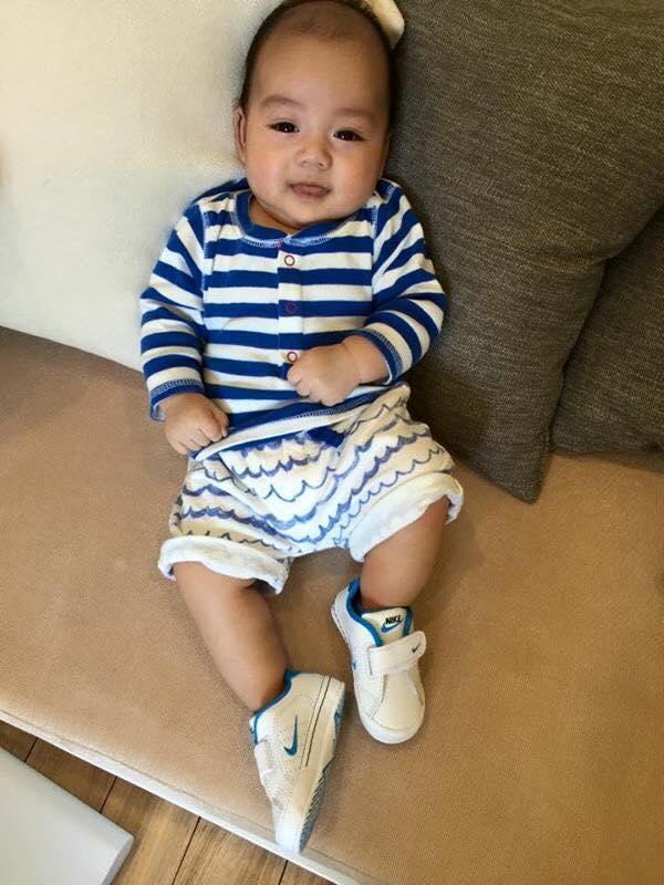 Những hoàng tử bé điển trai, đáng yêu của sao Việt  - Ảnh 1
