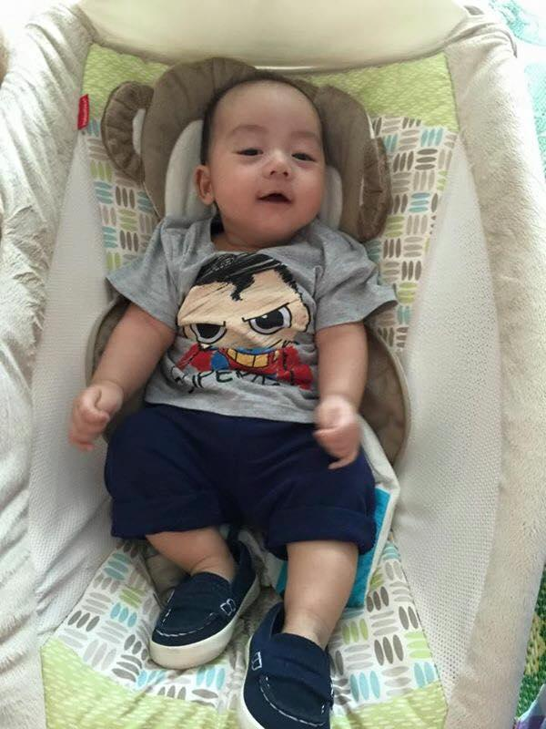 Những hoàng tử bé điển trai, đáng yêu của sao Việt  - Ảnh 2