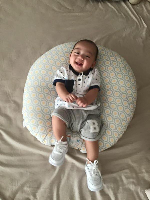Những hoàng tử bé điển trai, đáng yêu của sao Việt  - Ảnh 4