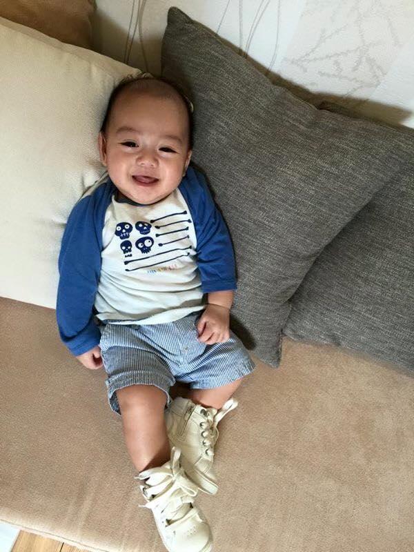 Những hoàng tử bé điển trai, đáng yêu của sao Việt  - Ảnh 5