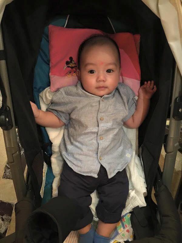 Những hoàng tử bé điển trai, đáng yêu của sao Việt  - Ảnh 6