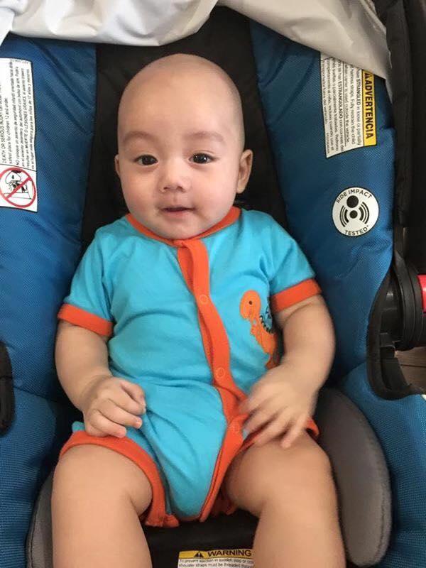 Những hoàng tử bé điển trai, đáng yêu của sao Việt  - Ảnh 8