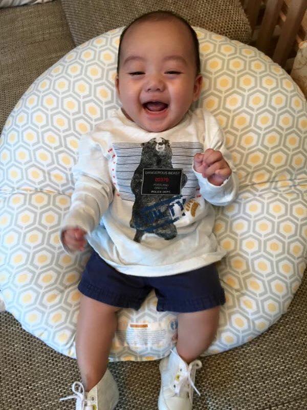 Những hoàng tử bé điển trai, đáng yêu của sao Việt  - Ảnh 7