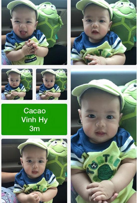 Những hoàng tử bé điển trai, đáng yêu của sao Việt  - Ảnh 11