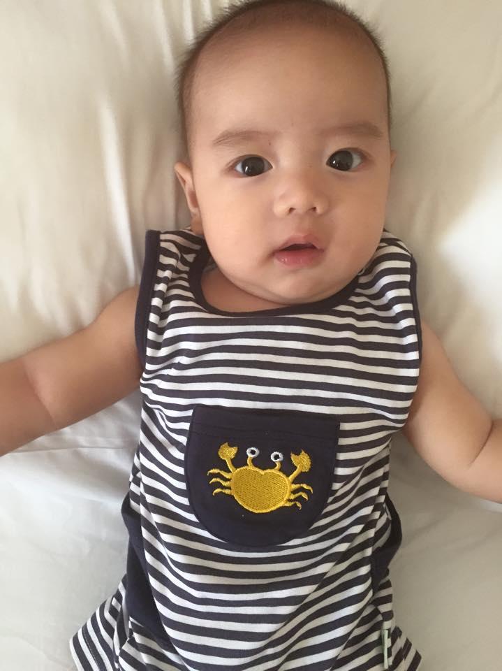 Những hoàng tử bé điển trai, đáng yêu của sao Việt  - Ảnh 13