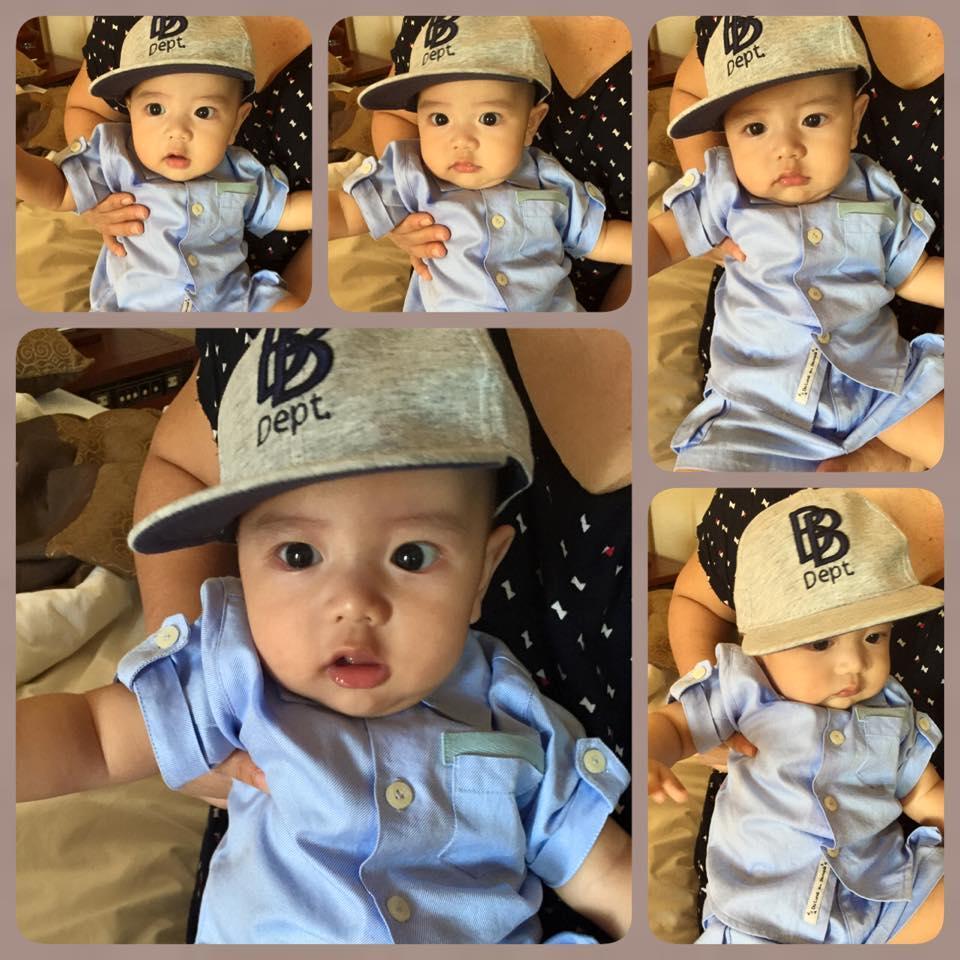 Những hoàng tử bé điển trai, đáng yêu của sao Việt  - Ảnh 14