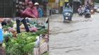 Lo mưa lụt kéo dài, người Hà Nội mua thực phẩm tích trữ