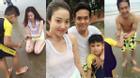 Hùng Thuận sum họp hạnh phúc bên vợ con