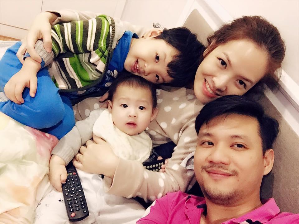 Những hoàng tử bé điển trai, đáng yêu của sao Việt  - Ảnh 35