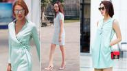 F5 phong cách với xanh pastel dịu dàng ngày giao mùa