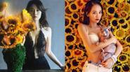 """""""Nữ hoàng phim thần tượng Đài Loan"""" táo bạo khoe ngực đầy"""