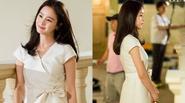 Kim Tae Hee đẹp như nữ thần trên phim trường