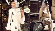 Lý Nhã Kỳ hóa quý cô cổ điển dạo chơi Paris
