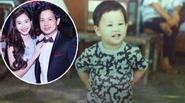 """Ảnh thơ ấu """"siêu dễ thương"""" của bạn trai HH Đặng Thu Thảo"""