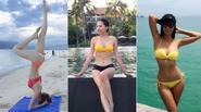 Sao Việt tranh thủ diện bikini cuối hè