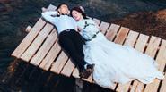Ảnh cưới lãng mạn của tiền vệ Đà Nẵng