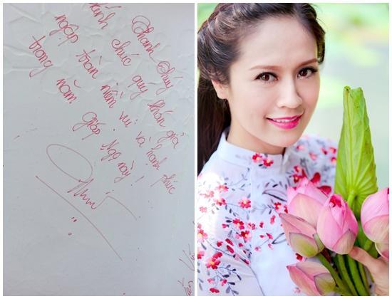 Soi chữ viết tay xấu - đẹp của sao Việt  - Ảnh 3