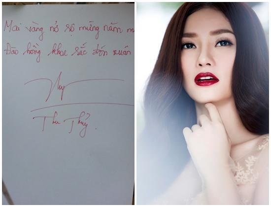 Soi chữ viết tay xấu - đẹp của sao Việt  - Ảnh 8