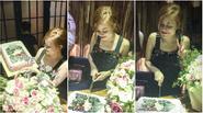 Hoàng Thùy Linh 'cười thả ga' trong tiệc sinh nhật muộn tại Hà Nội