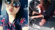 Cô gái châu Á chết thảm vì vừa lái xe vừa dùng điện thoại tự sướng