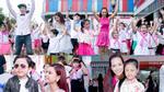 Mẹ con Thuý Hạnh, Trương Quỳnh Anh hào hứng nhảy flashmob
