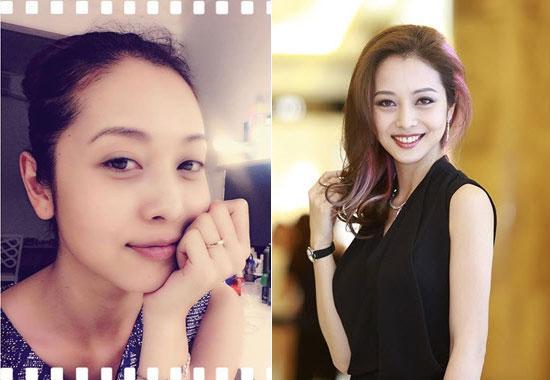 'Chấm điểm' mặt mộc và mặt trang điểm của 7 Hoa hậu Việt  - Ảnh 7