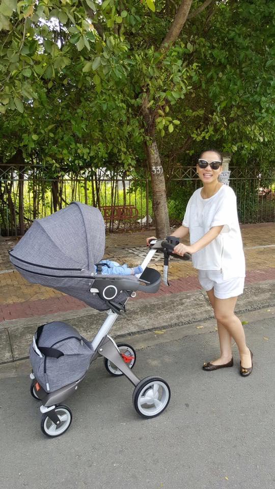 Thu Minh khoe cuộc sống thư thái