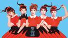 Cơn bão Kpop tháng 9, Red Velvet