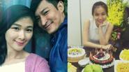 Facebook 24h: Huy Khánh khéo nịnh vợ - HH Thùy Lâm đẹp giản dị ngày sinh nhật