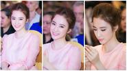 Angela Phương Trinh xinh đẹp trong ngày hội ăn chay