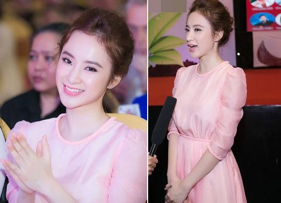 Sao Việt 'lên đời' nhan sắc với gam màu hồng pastel  ảnh 2