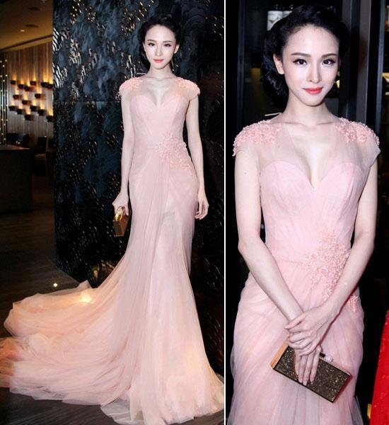 Sao Việt 'lên đời' nhan sắc với gam màu hồng pastel  ảnh 13