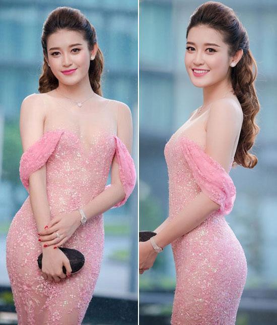Sao Việt 'lên đời' nhan sắc với gam màu hồng pastel  ảnh 5