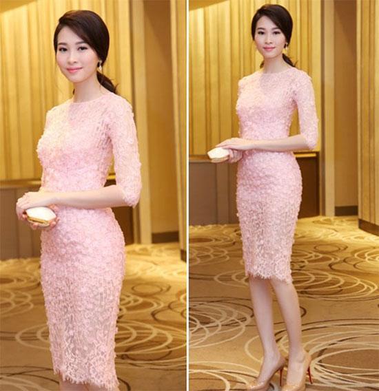 Sao Việt 'lên đời' nhan sắc với gam màu hồng pastel  ảnh 7