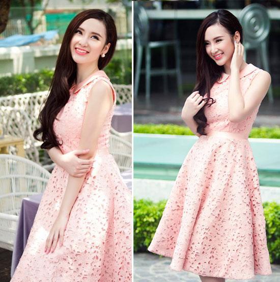 Sao Việt 'lên đời' nhan sắc với gam màu hồng pastel  ảnh 3