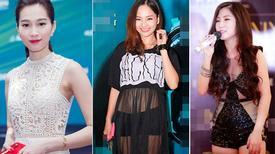 Sao Việt 'người lên hương - kẻ lạc điệu' với thời trang xuyên thấu