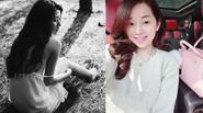 Ngẩn ngơ lưng trần gợi cảm của Quỳnh Anh Shyn - Ly kute tung ảnh rạng rỡ sau chia tay