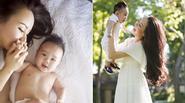 Facebook 24h: Cận khuôn mặt bụ bẫm đáng yêu của con trai Vy Oanh